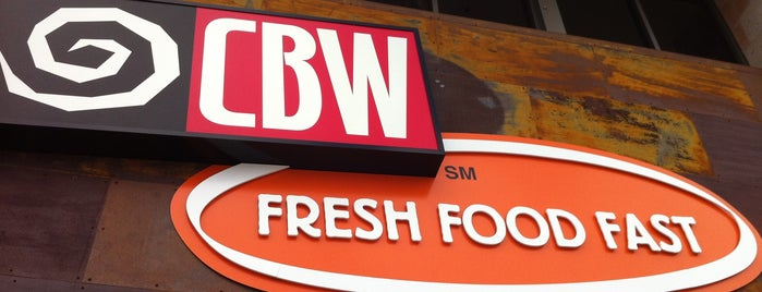 CBW Fresh Food Fast is one of Foodie places.