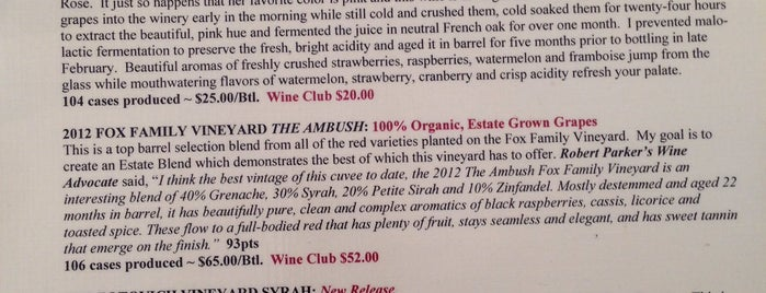 Blair Fox Cellars Tasting Room is one of Daily Sip Deals.