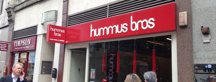Hummus Bros. is one of Lunch.