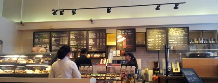 Starbucks is one of Places to check -in to.