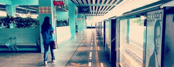 Clementi MRT Station (EW23) is one of le 4sq with Donald :).