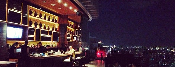 Octave Rooftop Lounge & Bar is one of Bangkok2016.