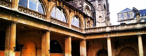 The Roman Baths is one of 36 hours in...Bath.