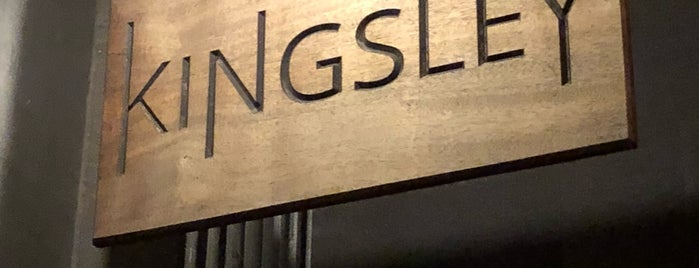 Kingsley is one of East village restaurants.