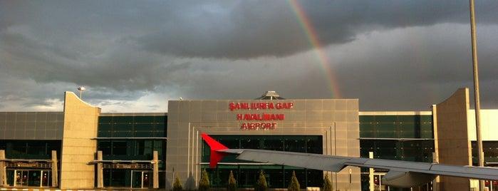 Şanlıurfa GAP Havalimanı (GNY) is one of Seçkin Mekanlar.