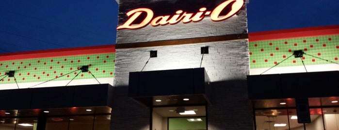 Dairi-O is one of Must-visit Food in Winston Salem.