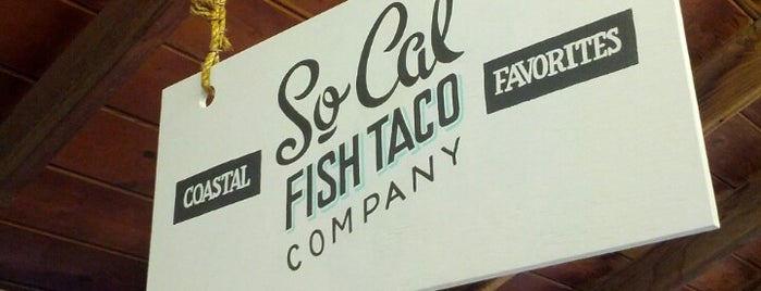 SoCal Fish Taco Company is one of Favorite Food.