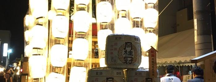 山伏山 is one of 祇園祭 - the Kyoto Gion Festival.