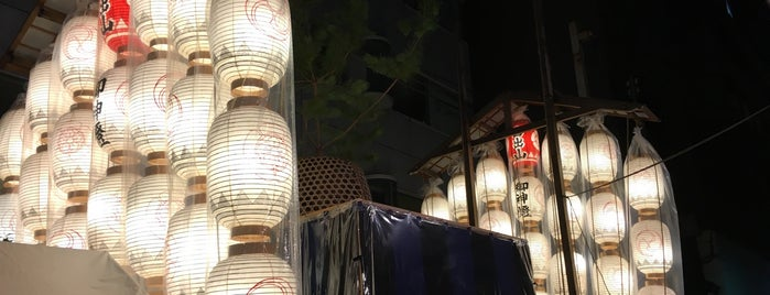 占出山 is one of 祇園祭 - the Kyoto Gion Festival.