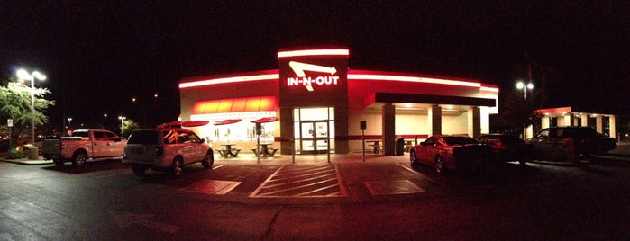 In-N-Out Burger is one of PLACES TO GO TO.