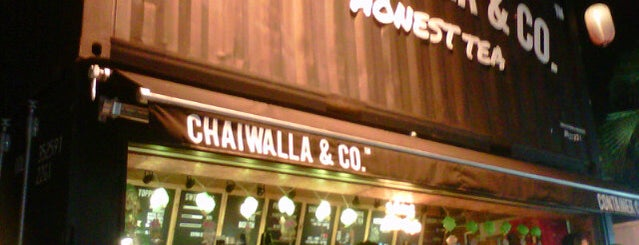 Chaiwalla & Co. Honest Tea is one of Johor/JB :Cafe connoisseurs Must Visit.