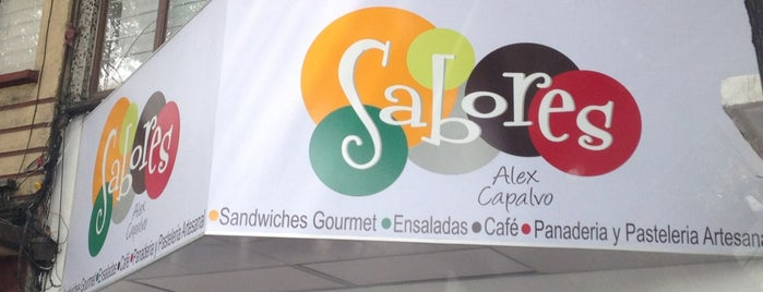 Sabores by Alex Capalvo is one of Restaurantes.