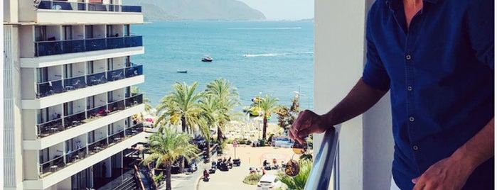 Hotel Mert Seasıde is one of Marmaris Yolu.