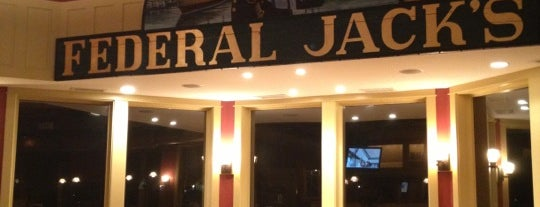 Federal Jack's Brewpub is one of New England Breweries.