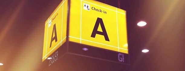 Check-in Aerolineas Argentinas is one of Aeroporto de Guarulhos (GRU Airport).