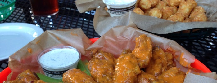 Fire on the Mountain is one of The Best Wings in Every State (D.C. included).