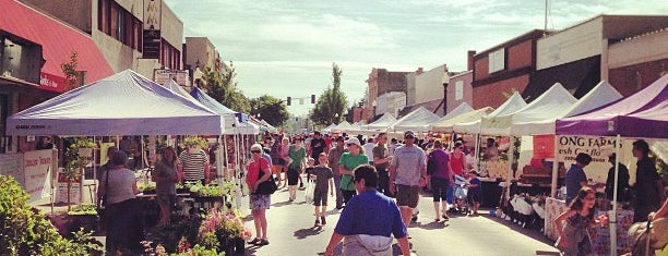 Hillsboro Farmer's Market is one of My Saved Places.