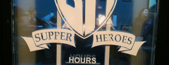 Supper Heroes is one of Alabama.