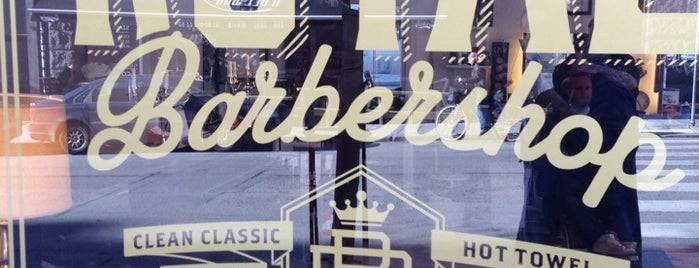 Royal Barbershop is one of Stockholm Misc.