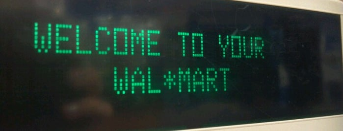Walmart Supercenter is one of All-time favorites in USA.