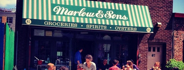 Marlow & Sons is one of Where in the World to Eat.