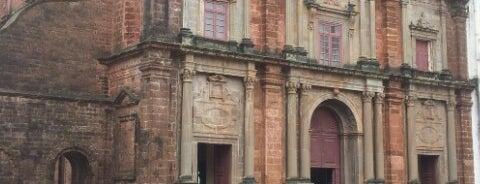 Basilica of Bom Jesus is one of UNESCO World Heritage Sites (Asia).