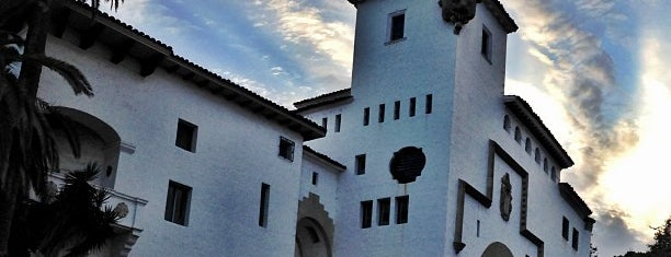 Santa Barbara Courthouse is one of Santa Barbara.