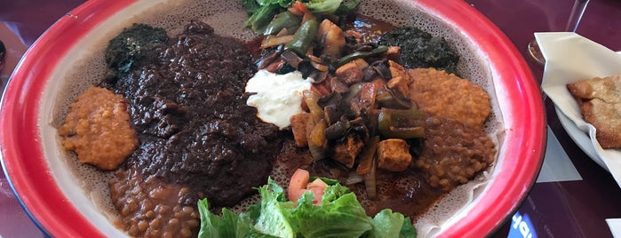 Assab Eritrean Restaurant is one of SF: To Eat.