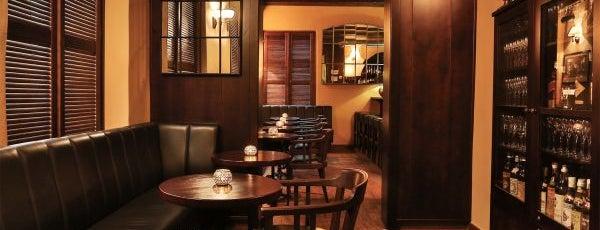 Hemingway Bar is one of Рестораны, пивоварни, кафе, пабы Праги.