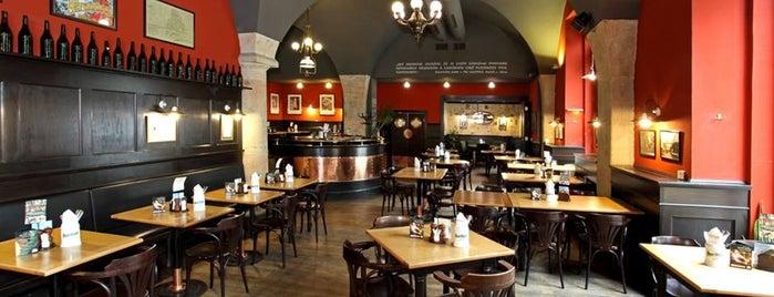 Kolkovna Celnice is one of Рестораны, пивоварни, кафе, пабы Праги.