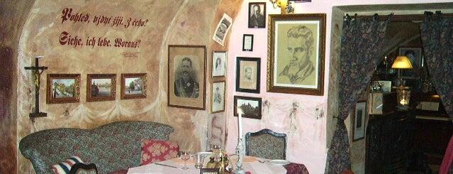 Rainer Maria Rilke is one of Рестораны, пивоварни, кафе, пабы Праги.