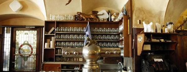 U Zlatého tygra is one of Рестораны, пивоварни, кафе, пабы Праги.
