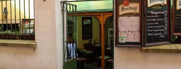 U Magistra Kelly is one of Рестораны, пивоварни, кафе, пабы Праги.