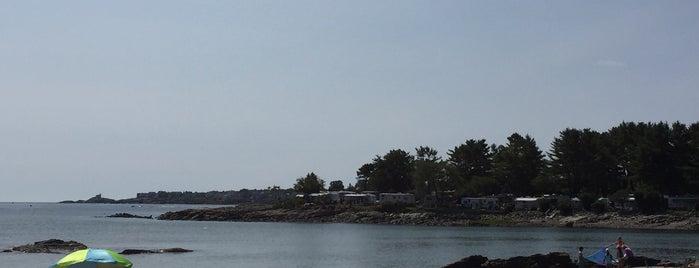 Cape Neddick Beach is one of Maine & New Hampshire.