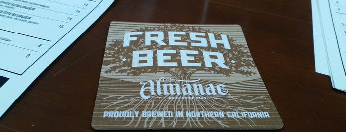 Almanac Tap Room is one of SF Bay Area Brewpubs/Taprooms.