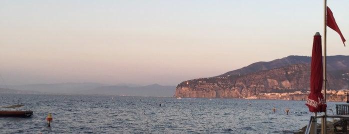 Ristorante Bagni Delfino is one of Sorrento-Capri.