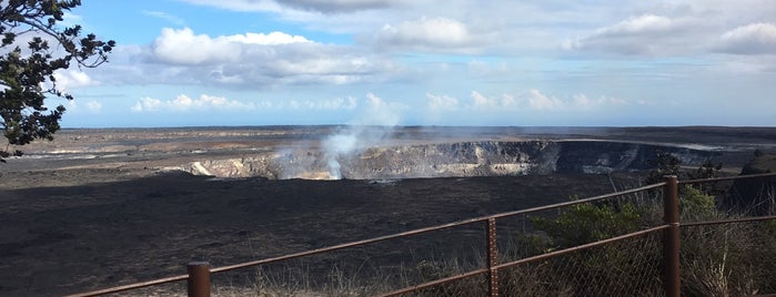 Halema'uma'u Crater is one of HI spots.