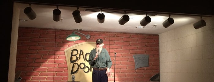 Backdoor Comedy Club is one of Dallas Outings.
