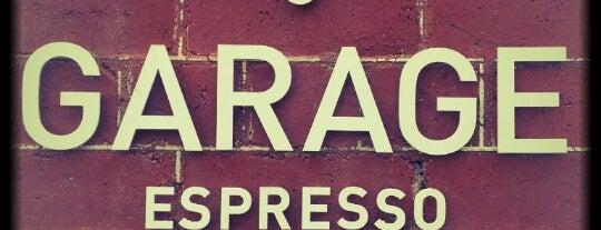 Garage Espresso is one of Melbourne Munchies.