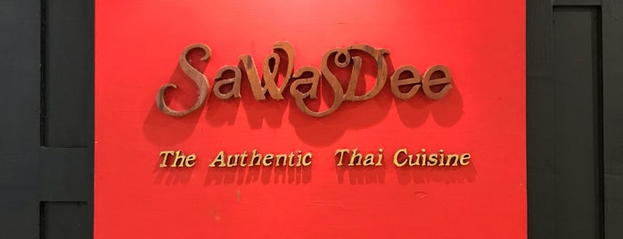Sawasdee is one of Bangkok 曼谷.