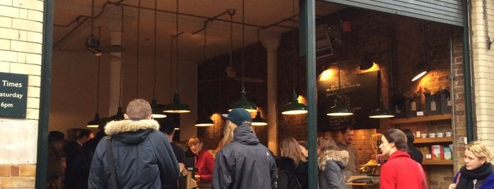 Monmouth Coffee Company is one of London // Alcohol Free.