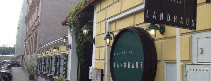 Ottakringer Landhaus is one of Food & Fun - Vienna, Graz & Salzburg.
