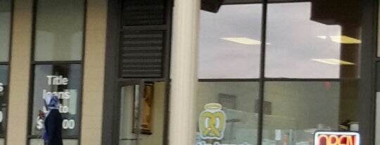 Auntie Anne's is one of Been there / &0r Go there.