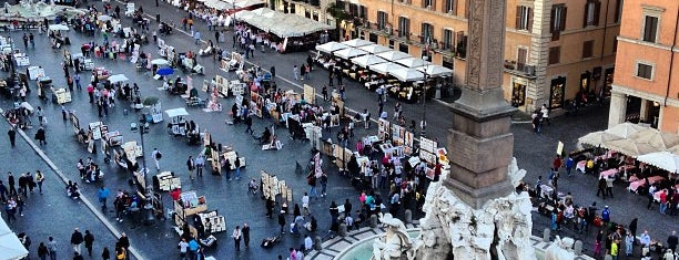 Piazza Navona is one of Must-visit Great Outdoors in Rome.