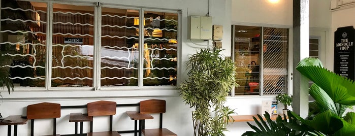 The Monocle Shop is one of Cafes To Visit!.