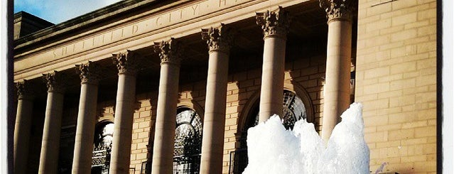 """Sheffield City Hall is one of """"MUST GO""""  Sheffield.."""