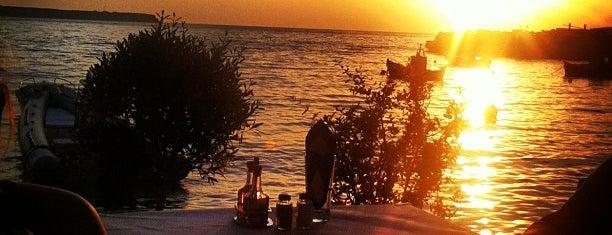 Sunset is one of Santorini.