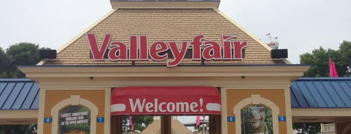 Valleyfair is one of What I Want To Do.