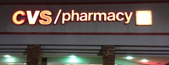 CVS/pharmacy is one of Pinpointed locations.