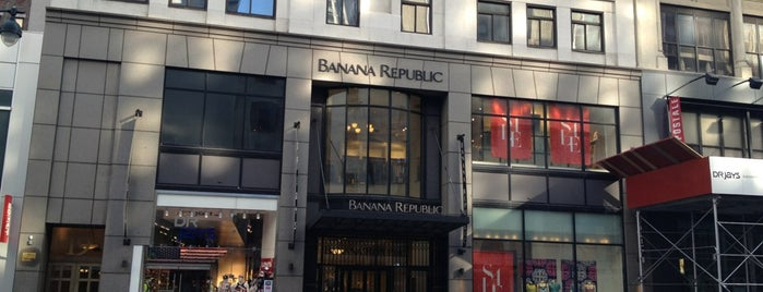 Banana Republic is one of Nyc.